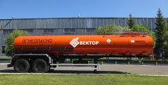 Полуприцеп цистерна НЕФАЗ для перевозки нефти 96744-0300120